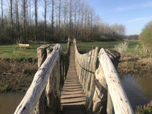 brug over water bij inspiratiewandeling